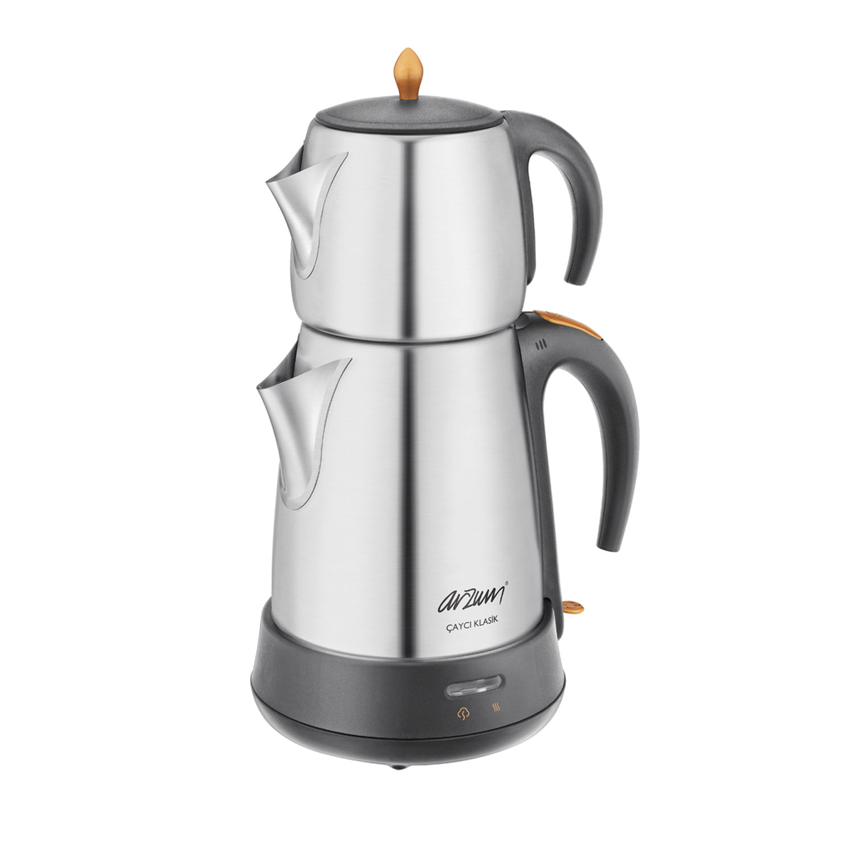 Arzum Çaycı Klasik Çay Makinesi - Inox - Thumbnail