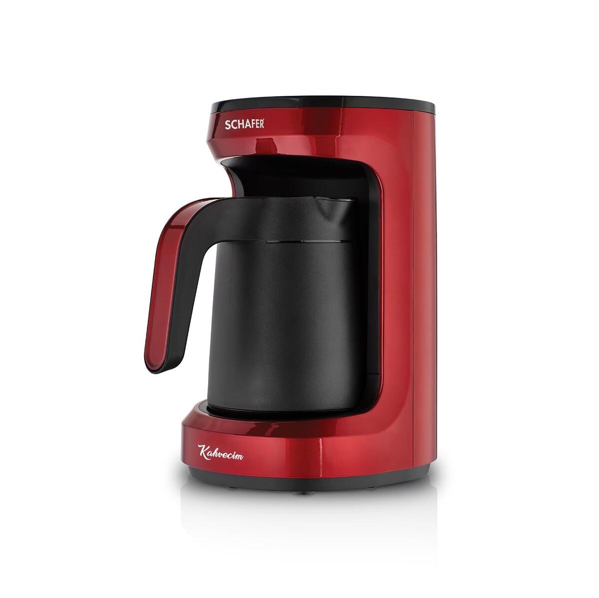 Schafer Kahvecim Kahve Makinesi Kırmızı